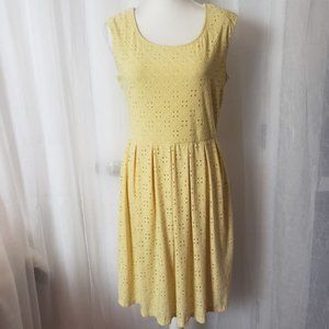 Ronni Nicole Yellow Sleeveless Dress Size 10